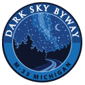 Logo Dark Sky Byway M-33 Michigan